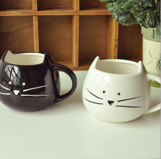 Cute Cat Ceramic Milk/Coffee Mug
