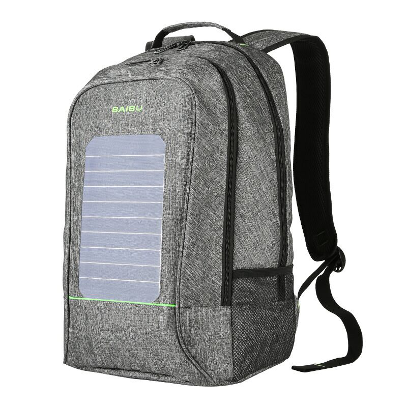16 Inch Solar Backpacks oxford USB Charge Laptop Computer Bags Anti Theft Male Large Teenager Waterproof  Phone Travel Bag 1916