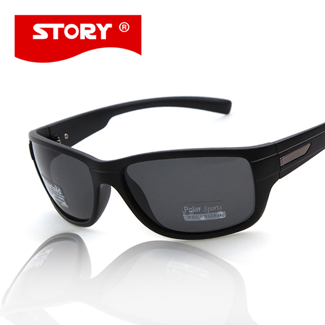 014a4368ee662 STORY Men Sunglasses Polarized Oculos De Sol Sun Glasses Mens Low Price  Eyewear Excellent Quality Superstar Style
