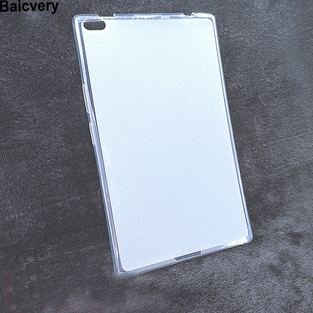 New Soft Silicon Case For Lenovo TAB 4 8 TB-8504N TB-8504F Anti Skid Hot Gel Cover For Lenovo TAB4 8 TB-8504F
