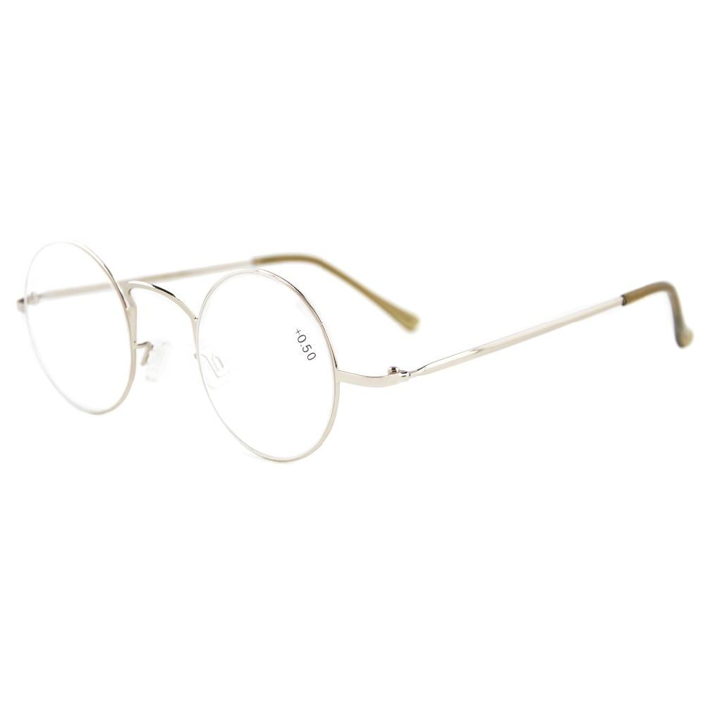 R15025 Eyekepper-lezers Lichtgewicht ronde metalen leesbril + 0.0 / - Kledingaccessoires - Foto 4