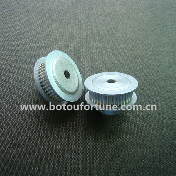 T5 Aluminum timing pulley 28 teeth 10mm bore 10 mm belt width and 1570 T5 10 PU withsteel core timing belt one pack