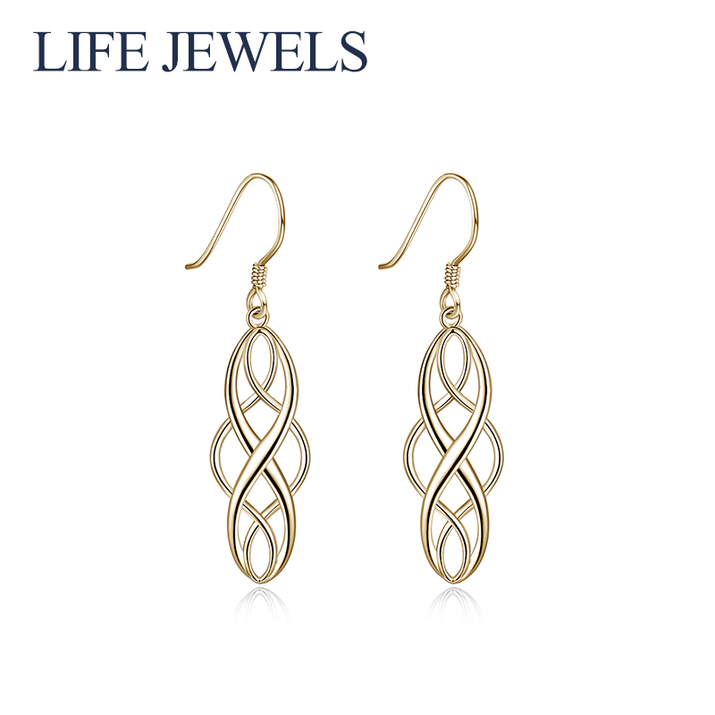 Authentic 100% 925 Sterling Silver Austria Earrings Women Luxury Valentines Day Jewelry Gift 18155