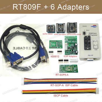RT809F セットユニバーサル EPROM フラッシュ VGA ISP AVR プログラマ + 6 アダプタソケット - DISCOUNT ITEM  11% OFF 電子部品 & 用品