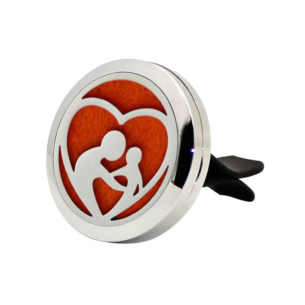 Big Sell!Stainless Car Air Auto Vent Freshener Essential Oil Diffuser Gift Locket Decor Oct 24