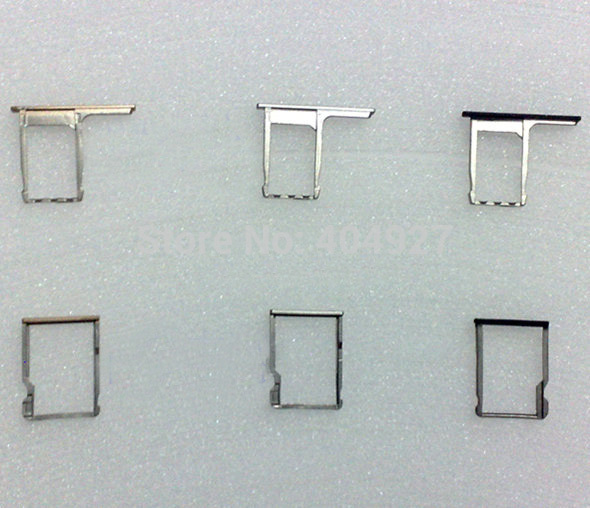 For HTC One M8 SIM Card Tray + SD Card Holder Replacement OEM New Silver Black Gold Gray Red Color