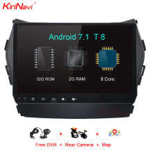 KiriNavi Octa Core Android 7,1 2 Din GPS para Hyundai IX45 Santa Fe Radio de coche Android reproductor de DVD de Audio Multimedia sistema de MP3 Wifi(China)