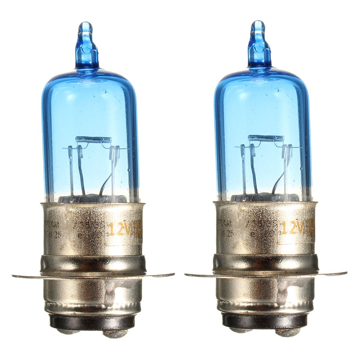 2 Pieces 35W ATV Lamp H6M Base 12V Motorcycle Headlight Bulb For Kawasaki For Honda For Suzuki For Yamaha Banshee