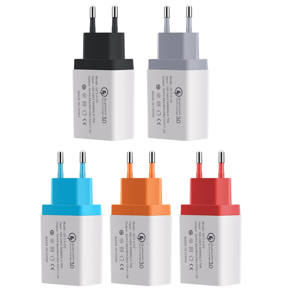 3.1A արագ լիցքավորիչ QC3.0 48W / 18W USB հոսանքի - Բջջային հեռախոսի պարագաներ և պահեստամասեր - Լուսանկար 6