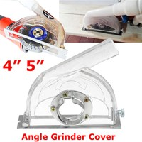 Convertible Clear Cutting Transparent Grinding Dust Cover For 45 Angle Grinder 3 4 5 Saw Blades