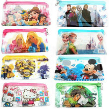 Cartoon Pvc Travel Storage Bag Portable Digital USB Gadget Charger Wires Cosmetic Zipper Pouch Case Accessories Supplies(China)