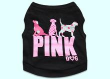 1pcs dogs cats fashion summer style vests clothes doggy t shirt clothing puppy vest pet dog cat t shirts XS S M L