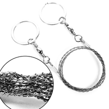 Emergency Survival Camping Chain Wire Saw Ring Tool Hunting Climbing Gear Travel Stainless Steel EDC Outdoor Survival Tools