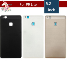 10pcs/lot For Huawei P9 Lite Back Battery Housing Cover Rear Door Case Chassis Replacement Parts for P9lite