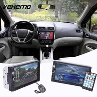 Vehemo HD 7 Inches Double 2Din Car Bluetooth Touch Screen MP5 Player Waterproof