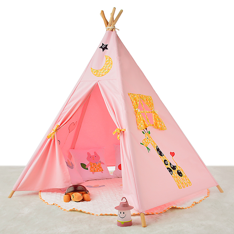 New design Kids Teepee Play Tent for elephant carton child play tent pink color kids play house game room-in Toy Tents from Toys u0026 Hobbies on Aliexpress.com ...  sc 1 st  AliExpress.com & New design Kids Teepee Play Tent for elephant carton child play ...