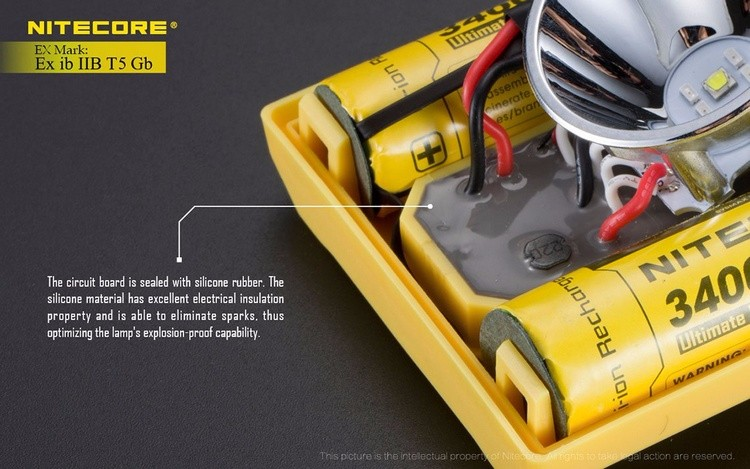 cree led headlamp battery