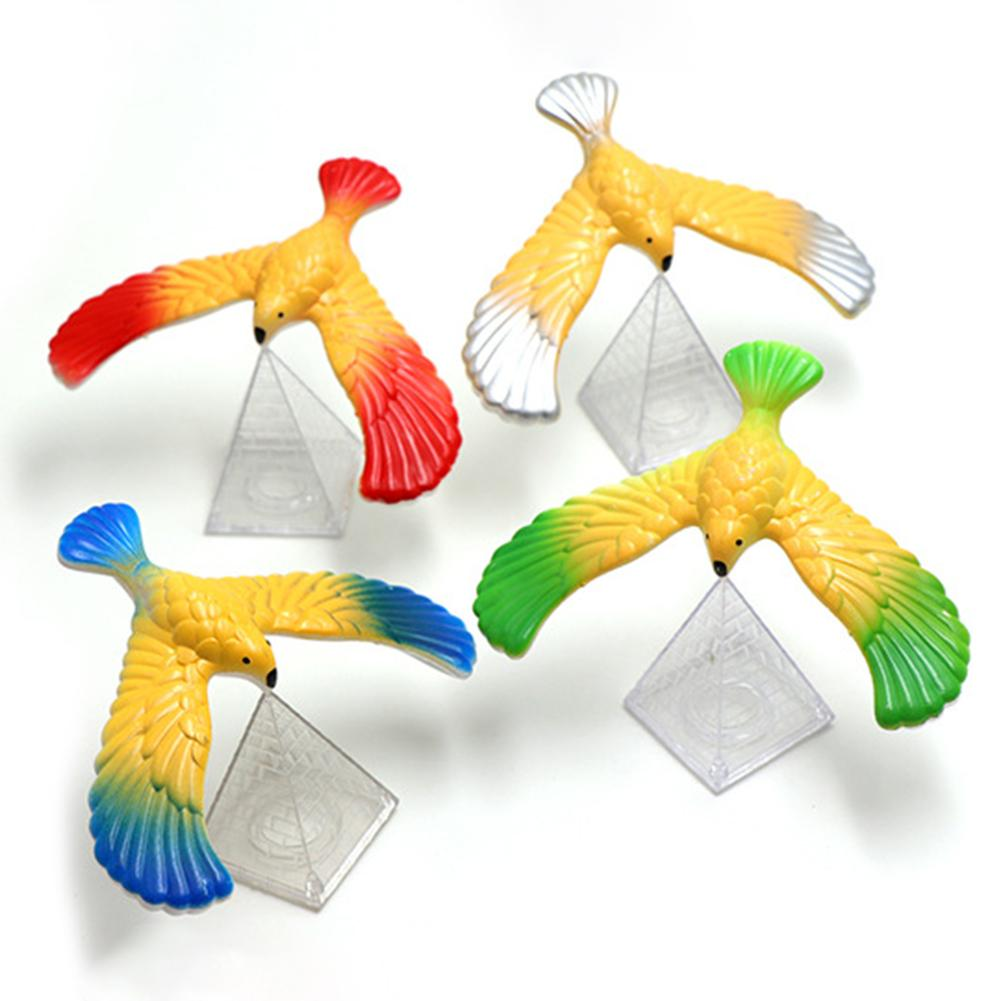 1pcs Plastic Innovative Balance Bird Eagle Children Adult Trumpet Classic Puzzle Nostalgic Toy