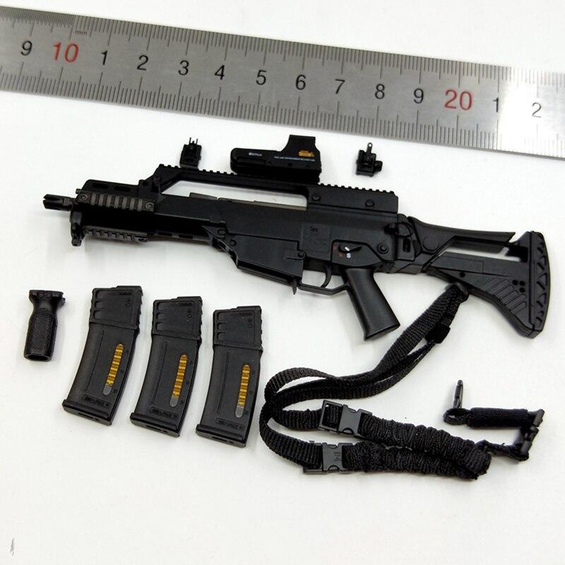 78061 1/6 unité de POLICE française RAID à PARIS G36c modèles d'armes à feu jouets pour figurines 12 ''corps accessoires bricolage