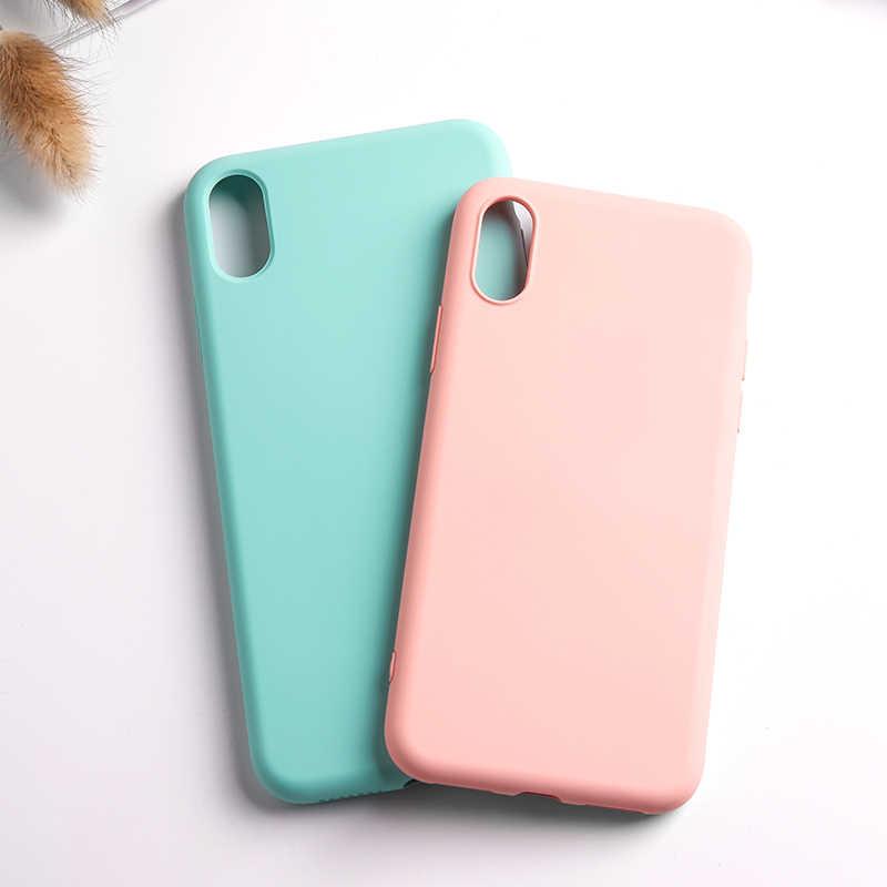 Чехол для телефона iPhone XR X XS Max 6 6S 7 8 Plus, силиконовый чехол для iPhone 7 8 Plus, Мягкий мобильный телефон, аксессуары