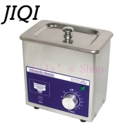 Small Ultrasonic Cleaning Machine Digital Wave Cleaner 80w Household Glasses Jewelry Dental Watch Toothbrushes EU
