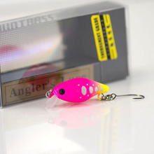 30mm 2 2g Crank bait Hard Plastic Fishing Lures  Countbass Wobbler