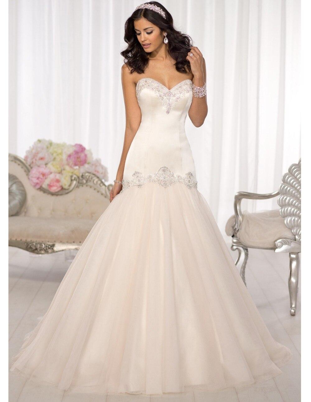 popular crystal wedding dresses buy cheap crystal wedding dresses lots from china crystal. Black Bedroom Furniture Sets. Home Design Ideas