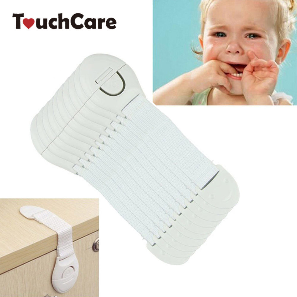 10Pcs/Lot Child Lock Protection Of Children Locking Doors For Children's Safety Kids Safety Plastic Lock For Child