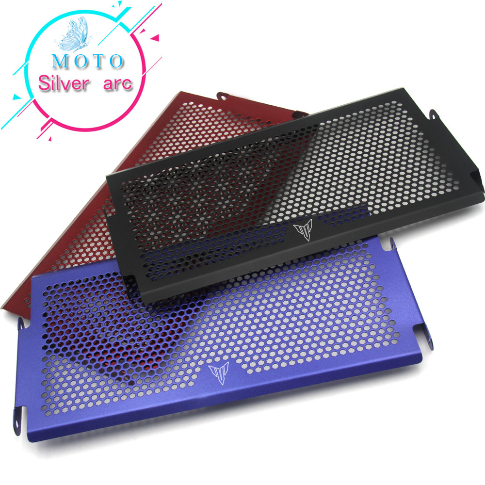 For Yamaha MT-07 MT 07 MT07 2016 Motorcycle Accessories Radiator Grille Guard Cover Protector FZ07 2014 2015 2016 arashi motorcycle radiator grille protective cover grill guard protector for 2008 2009 2010 2011 honda cbr1000rr cbr 1000 rr