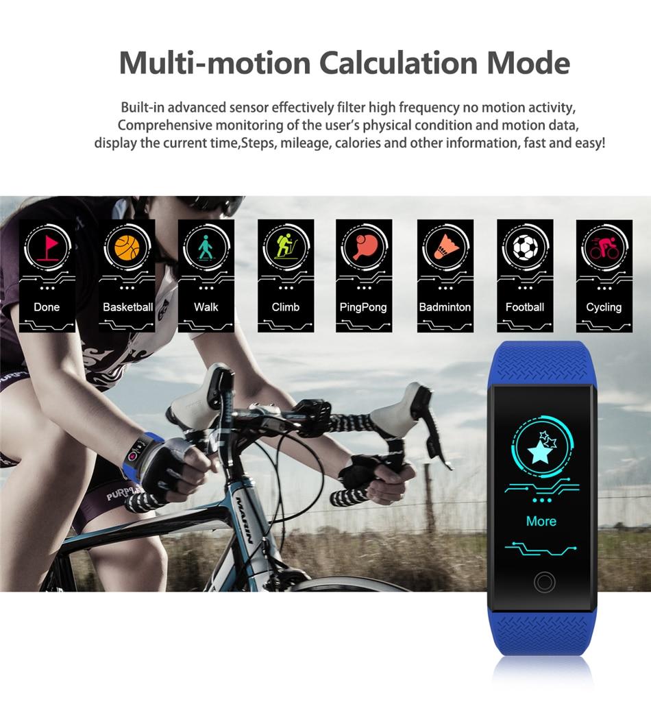 BANGWEI 2018 New Men Smar watch Blood pressure heart rate monitor basketball Fitness Tracker Smart Sport Watch Reloj inteligente 11