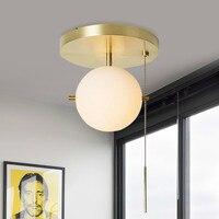 Все медные гостиная пост современный минимализм Nordic кабинет, личность творчество весело потолок освещение творческий LU808132