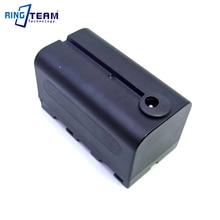 NP F750 Empty Dummy Battery Replaces BB6 NP F970 NPF970 fit LED VIDEO LIGHT Panel Monitor DV 96 DV 112 DV 160V DV 216V Z Cam E2