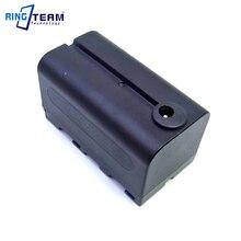 NP F750 Vide Batterie Factice Remplace BB6 NP F970 NPF970 ajustement LED VIDÉO Panneau LUMINEUX Moniteur DV 96 DV 112 DV 160V DV 216V Z Cam E2