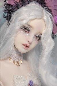 Image 5 - 樹脂 BJD 65 センチメートル女神 Bailu/Taolu ファッションボディ 1/3 ホット bjd スタンド超高ヒール足 HeHeBJD 人形