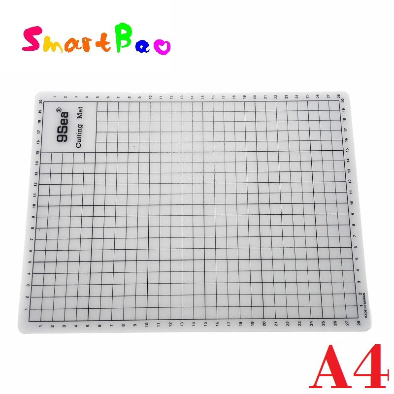 A4 Translucent Cutting Board Self Healing Cutting Mat Craft Handmade Diy Accessory Cutting Plate  22* 30cm