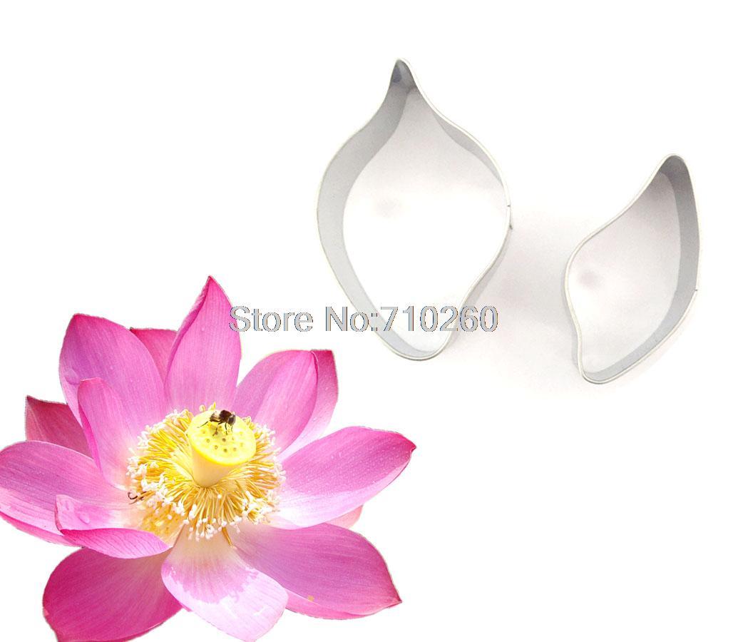 F031 Fondant Cake Decoration Lotus Cutter Gum Paste Flower Cutter