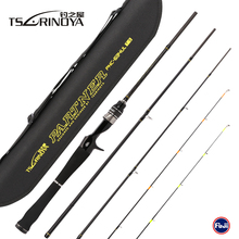 TSURINOYA PARTNER 4Sec 1.89m UL 2Tips Bait Casting Fishing Rod 4-10LB/2-7g Carbon Baitcasting Rod Pesca Olta Cana Pescar Peche цена 2017
