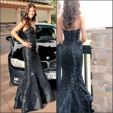 XGGandXRR Mermaid Evening Dress Floor Length Prom Dresses