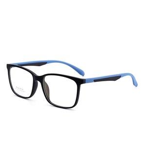 Image 3 - Hotony Optische Brillen Ultem Flexibele Super Lichtgewicht Recept Optische Bril Frame D010