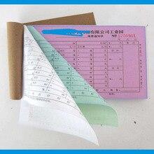 A5 карбоновая бумага квитанционная книга/Компьютерная печатная бумага для инвойсов 1ply 2 ply 3ply из безуглеродной бумаги размер букв