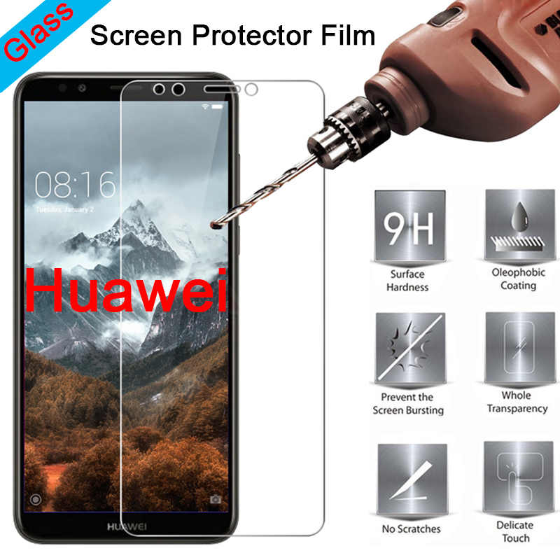 Tempered Glass for Huawei Y9 2019 Y7 Prime 2017 Protective Glass for Huawei Y7 Pro 2018 Mate 7 8 9 Lite S Screen Protector Film