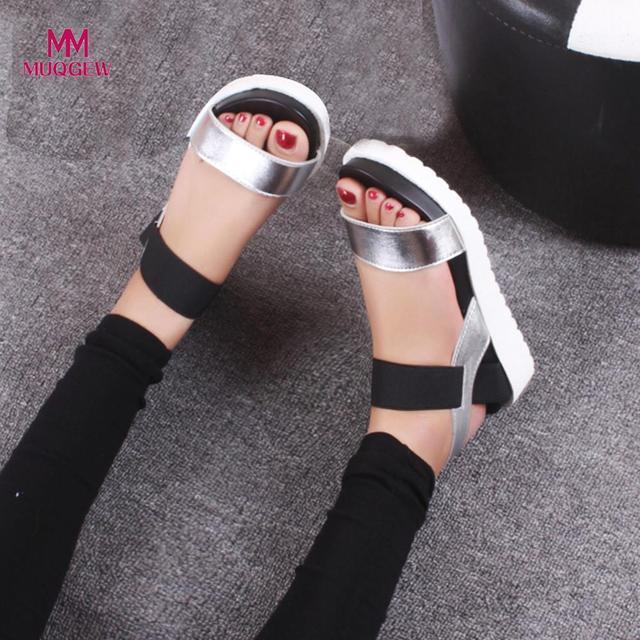 2dbfcd45d9db Women s Shoes Summer Sandals Shoes Peep-toe Low Shoes Roman Sandals Ladies  Flip Flops Female Designer Shoer zapatos mujer