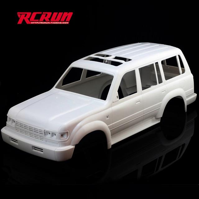 1 10 rc rock crawler land cruiser lc80 carrosserie de voiture empattement est 313mm pour axial. Black Bedroom Furniture Sets. Home Design Ideas