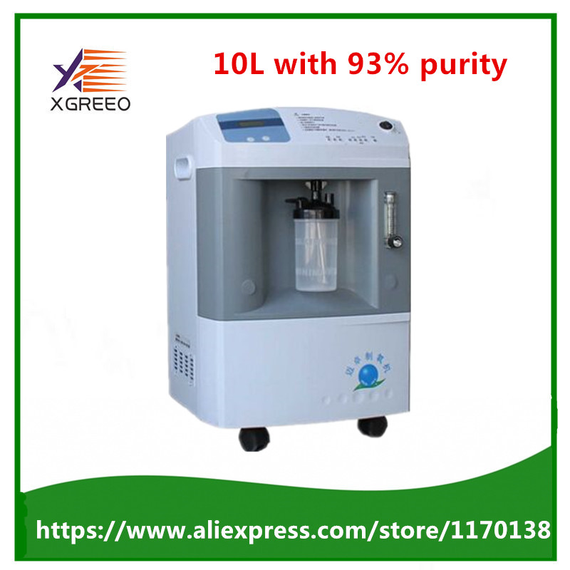 10L with 93% High purity Large Oxygen Outflow Portable Medical Oxygen Concentrator Generator medical level oxygen generator цена