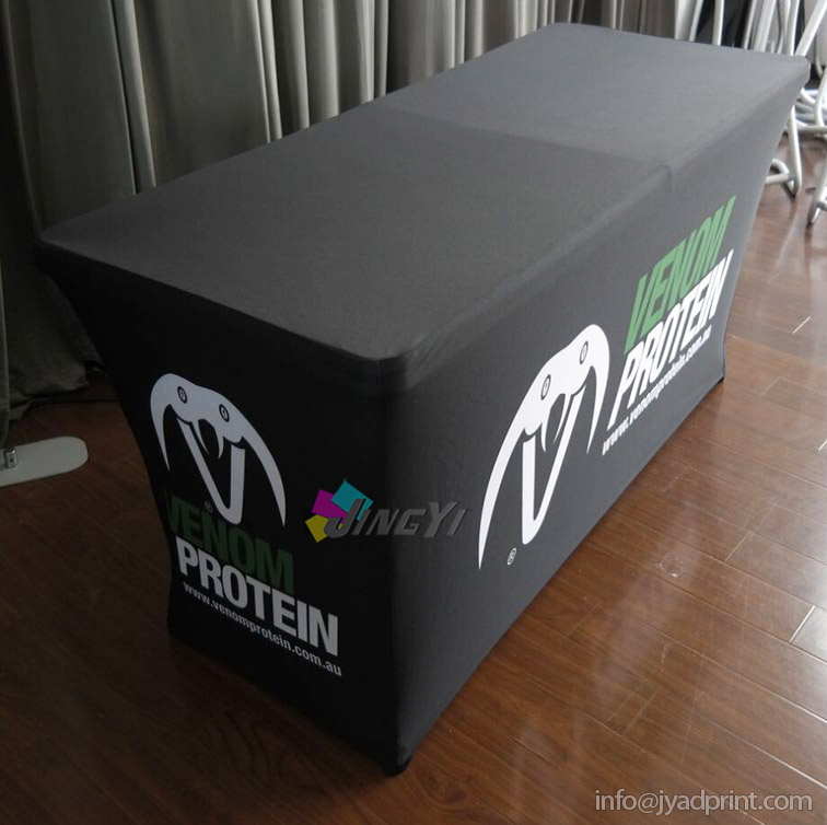 4ft Spandex Tension Tablecloths Exhibition Table