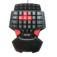 T9 One Hand Keyboard One Hand Gaming Keyboard Single Hand Gaming Keyboard LED Backlight Professional Gaming keyboard