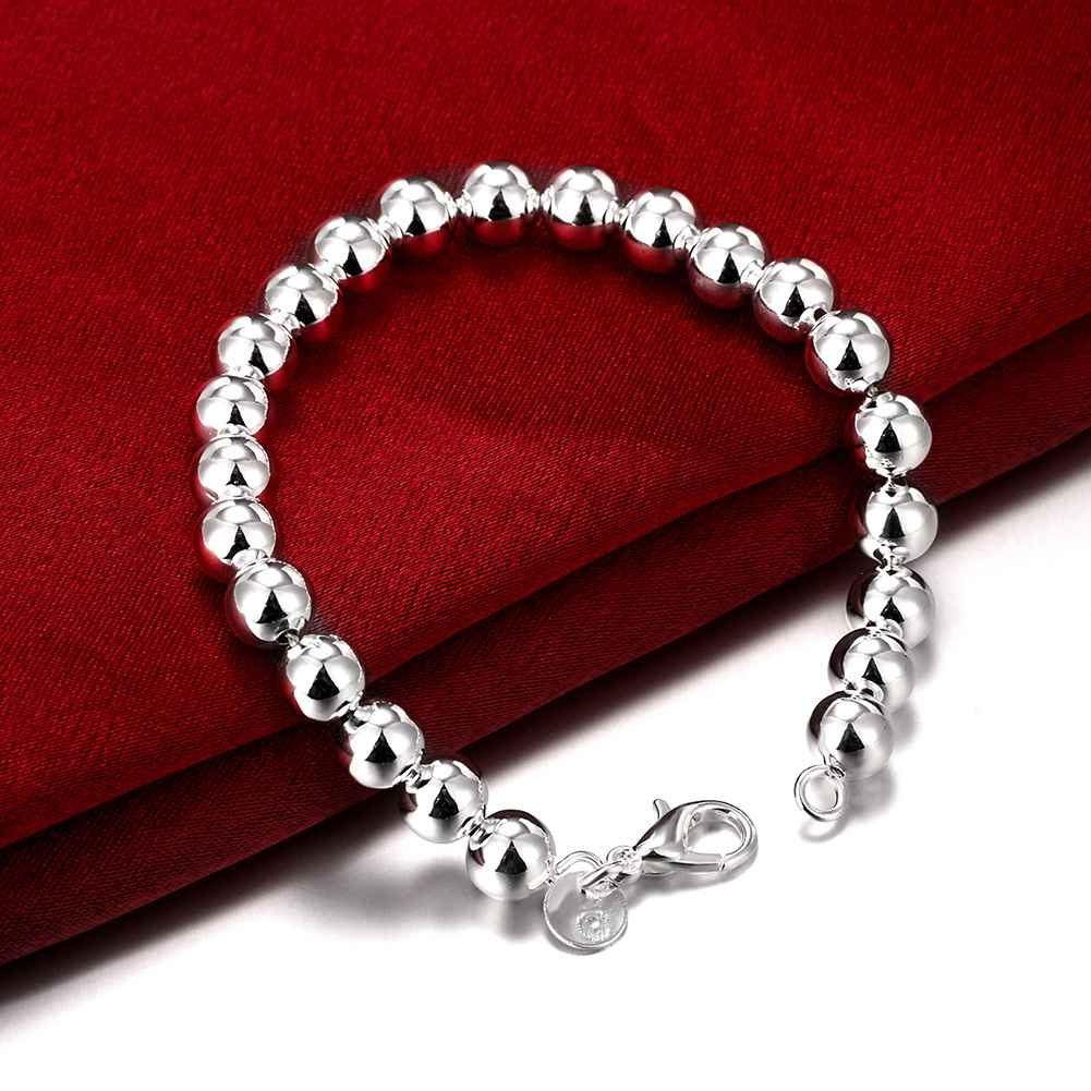 Free Shipping 925 jewelry silver plated Bracelet Fashion ...