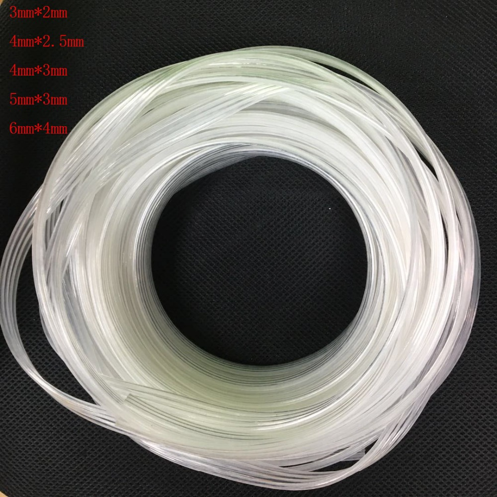 10m/lot 4 lines 4 rows ink tube hose for dx4 dx5 dx7 print head eco solvent printer for allwin xuli xenons galaxy 3*2mm  4*2.5mm
