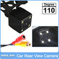 Универсальный 110 Градусов Водонепроницаемый Автомобиля Камера Заднего вида Система Помощи При Парковке HD CCD с 4 LED Ночного Видения Резервное Копирование сторона