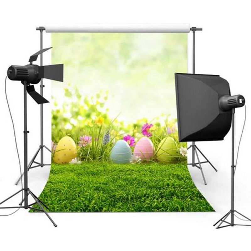 Vinyl Cloth Customize Happy Easter Day Theme Children Photo Background 5x7ft Photography Backdrops for Party Photo Studio GE-085 8 ft vinyl cloth spring easter day photography backdrops for kids party photo studio portrait background props f 058